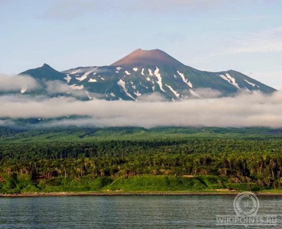 где находится вулкан тятя